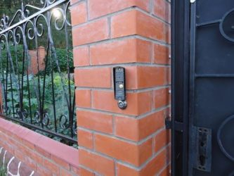 Домофон на ворота для частного дома