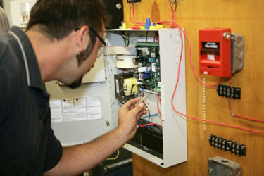 Электроснабжение пожарной сигнализации