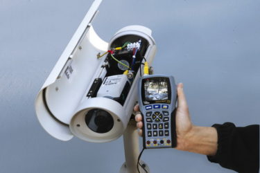 Ремонт уличных камер видеонаблюдения