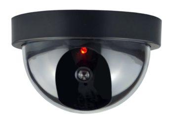 Купольная камера с датчиком движения