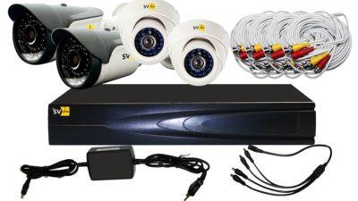 Видеокамера для частного дома готовые комплекты